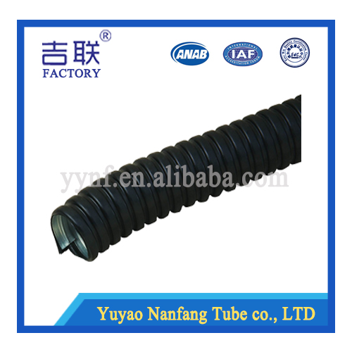 SS wire braided pvc flexible conduit/hose/pipe against explosion