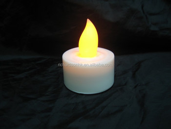 LED Tea Light / Candle light (plastic cylindrical)