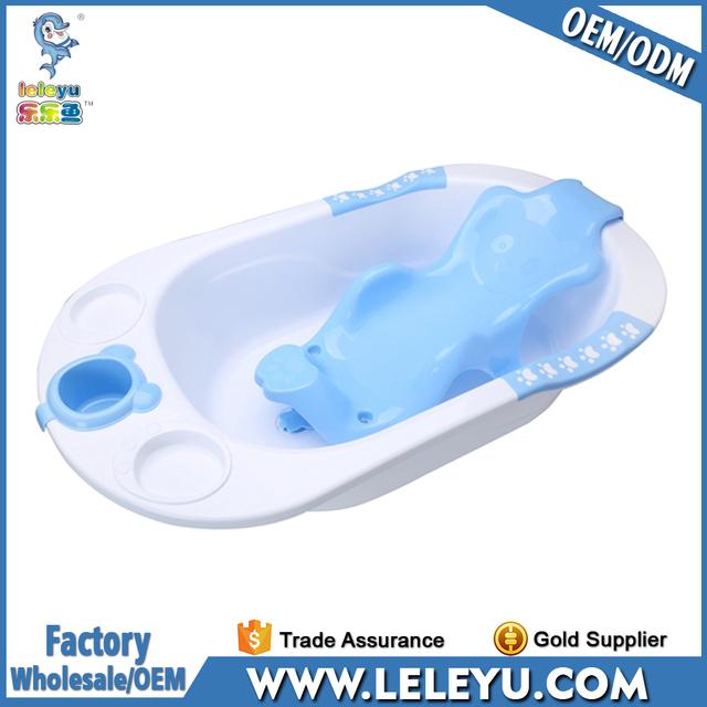 2017 New Design Plastic Baby Bath Tub High Quality Baby Bathtub With Stand