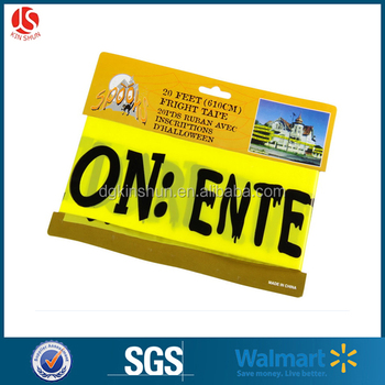 1 pack 3 inches wide 25 feet long crime scene tapes