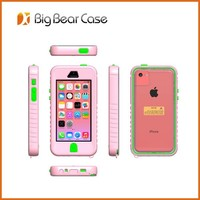Waterproof cheap mobile phone case for iphone 4 4s 5c
