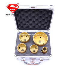 Diamond Drill Bits Coated Core Hole Saw Set