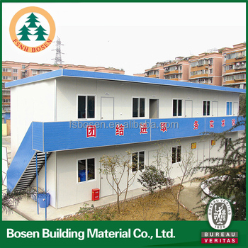 good anti earthquake prefabricated house for sale