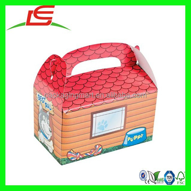 N476 Dog House Box Hunted House Meal Munch Box Safe Box For Kids