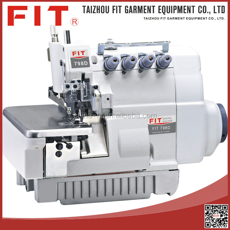 New design drict drive overlock sewing machine