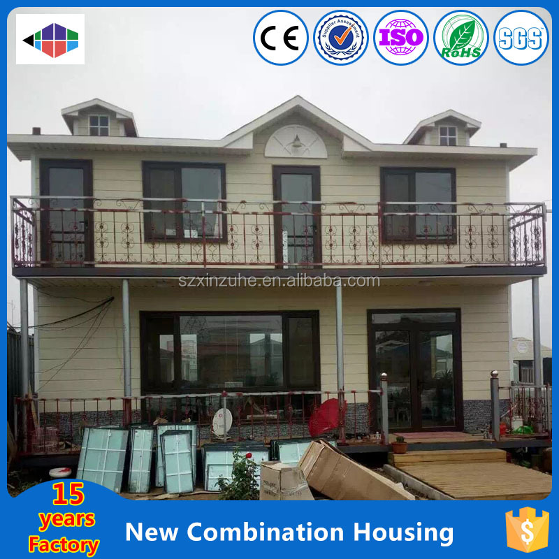 container villa foldable container house for construction site