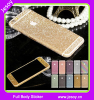JESOY Mobile Phone Cases For iPhone 5 5s 5se Glitter Phone Skin Stickers