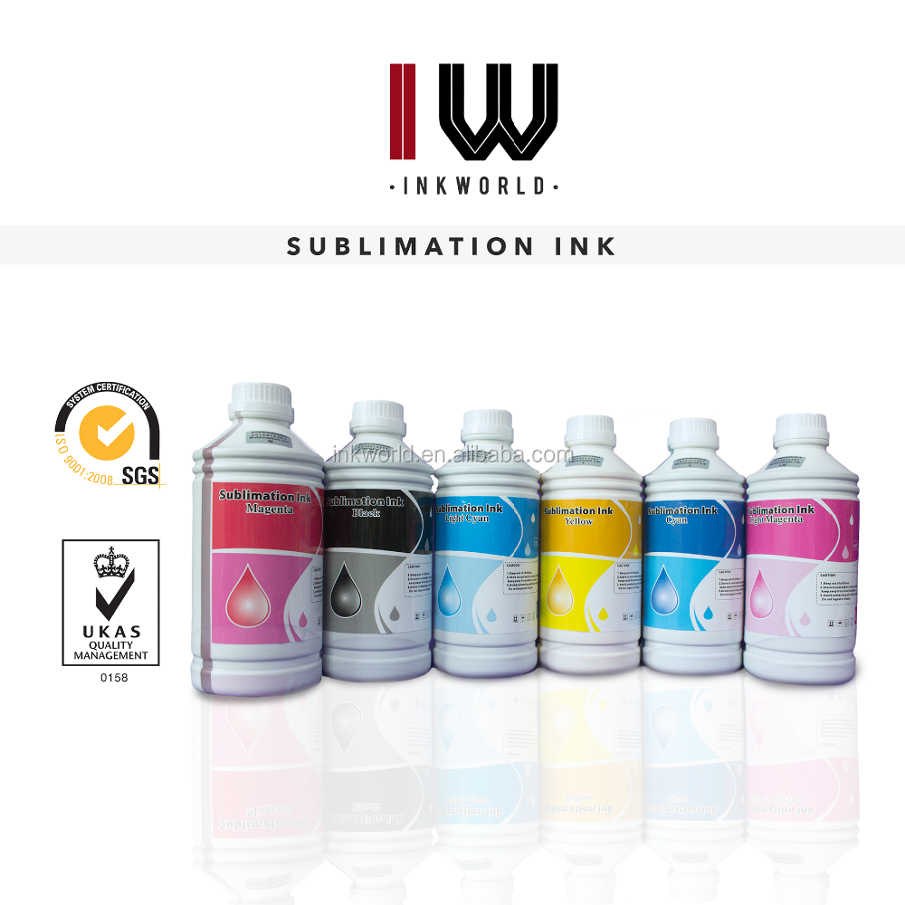ink for epson refill Sublimation ink 6colors heat transfer screen print ink for Epson R275/R390/R290/R270/T50