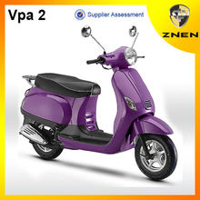 ZNEN Motor 2018 Vpa 2 retro gas scooter 50cc scooter 125cc 150cc with EEC EPA DOT