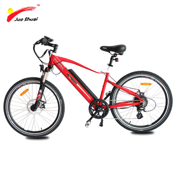 2016 light weight aluminium alloy electrical bicycle with hidden battery (JSE72-D)