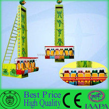 Kids love exciting carnival rides amusement jumping frog
