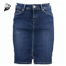 fashion HOT SALE denim skirts stretch short mini women's skirt