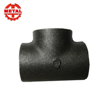 Black Malleable Iron Threaded Elbow Pipe Fittings Floor Flanges