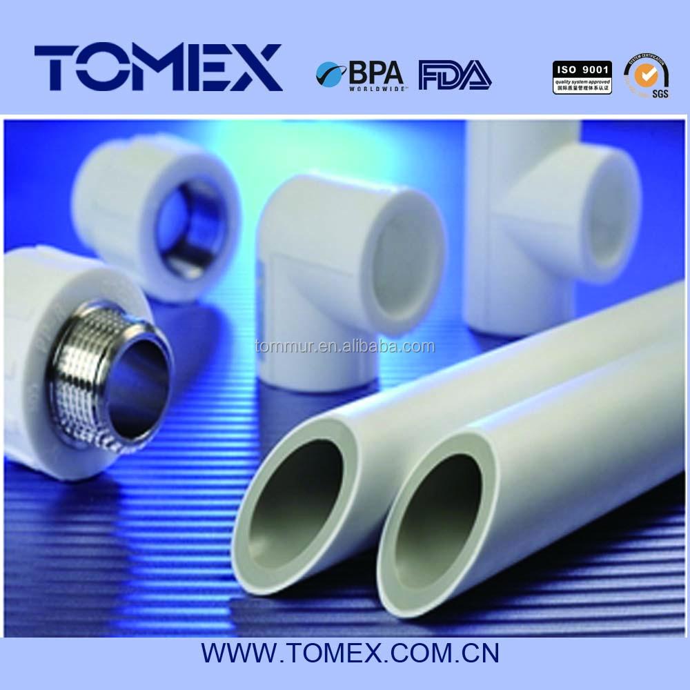 glass fiber ppr pipe and fittings