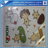 Customized die cut puzzle magnet sheet for kids
