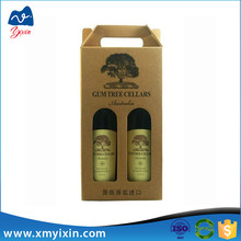 Production cardboard packaging wine wax corrugated box