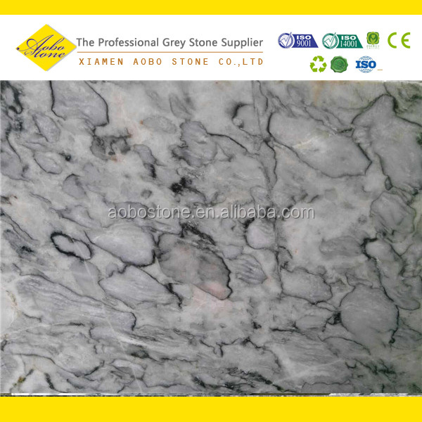 Water grey granite big slab high quality