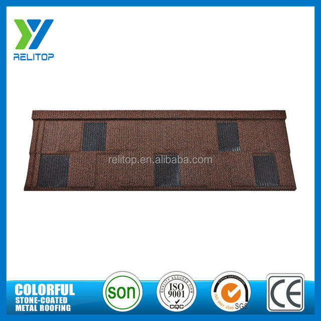 Sand Coated Red Roof From Guangdong