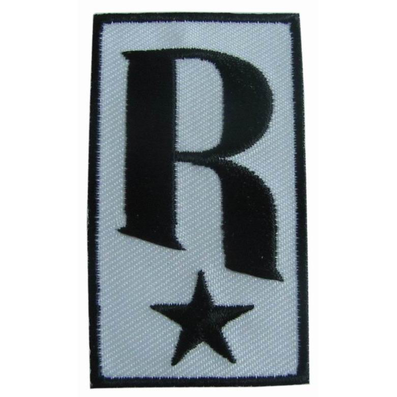 REVELATION RECORDS <strong>r</strong>/star logo CLOTH PATCH