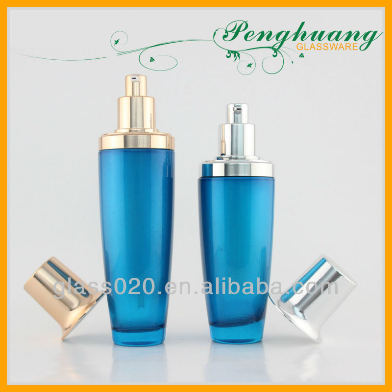 cosmetic glass bottle 30ml with spray