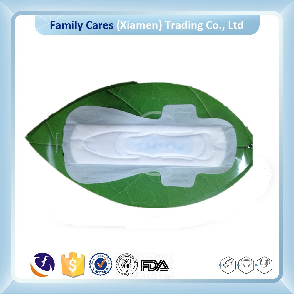 Best product 240mm Cotton cover Lady female sanitary napkin