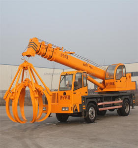 Hydraulic Telescopic Crane Mounted on Truck with 16 Ton Capacity