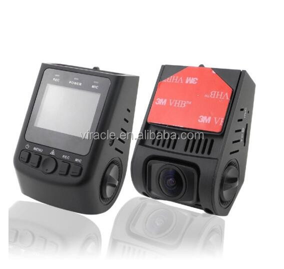 High quality car dvr dash camera fhd 1080P G-Sensor car dvr GPS radar detector