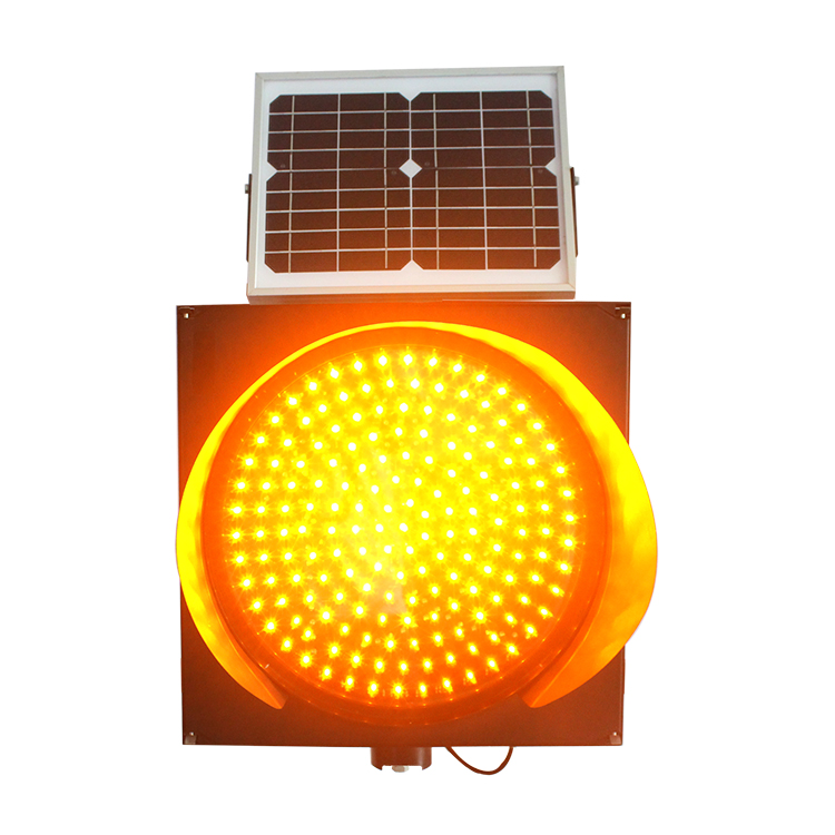 Traffic led solar warning flashing light with best price