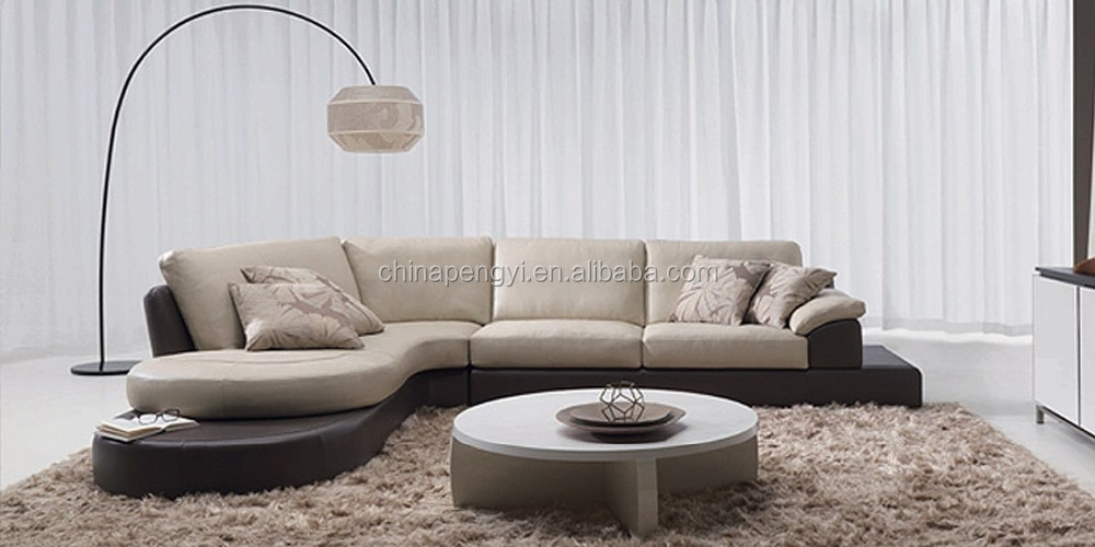 2016 new design sofa furniture with led light