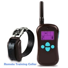 Pet 600M Electronic Remote Control Dog Training Collar with Ranging and Shock