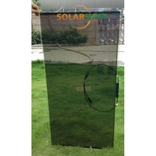 high quality low price 20% transparent thin film solar panel