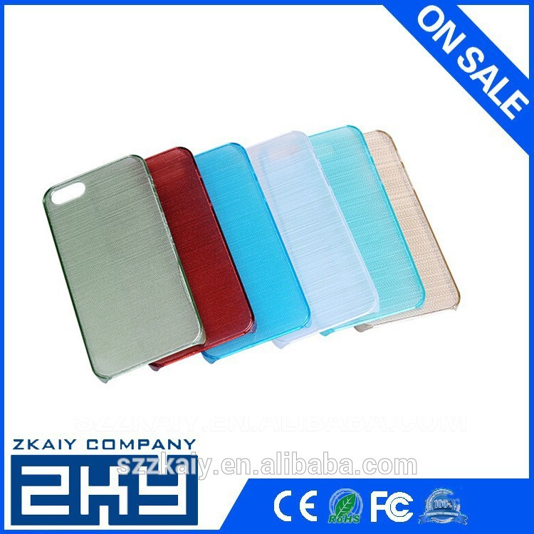 Cheap glossy 3d blank sublimation case for iphone5