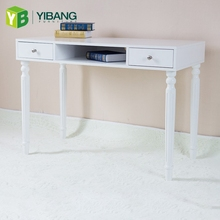 Easy Assemble Solid Office Best Fashionable Computer Room Movable Desk Beige Color