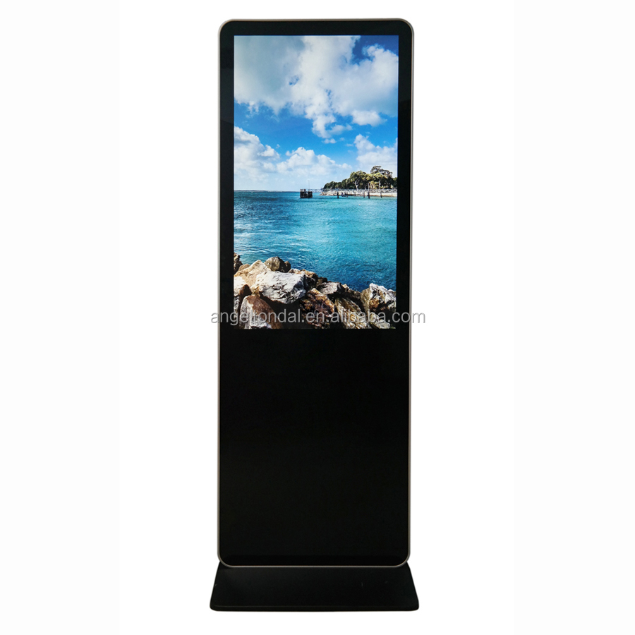 42 inch touch screen kiosk for trade show display