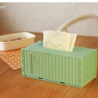 tissue box/hot sale fancy leather luxurious tissue box PU Royal dinner napkin box