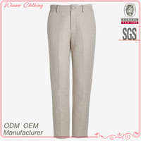 Pants manufacturer long length white aladdin pants and trousers