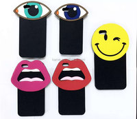 Popular korea 3D Cartoon Smile Face Soft Silicon Phone Cases Cover For phone 6