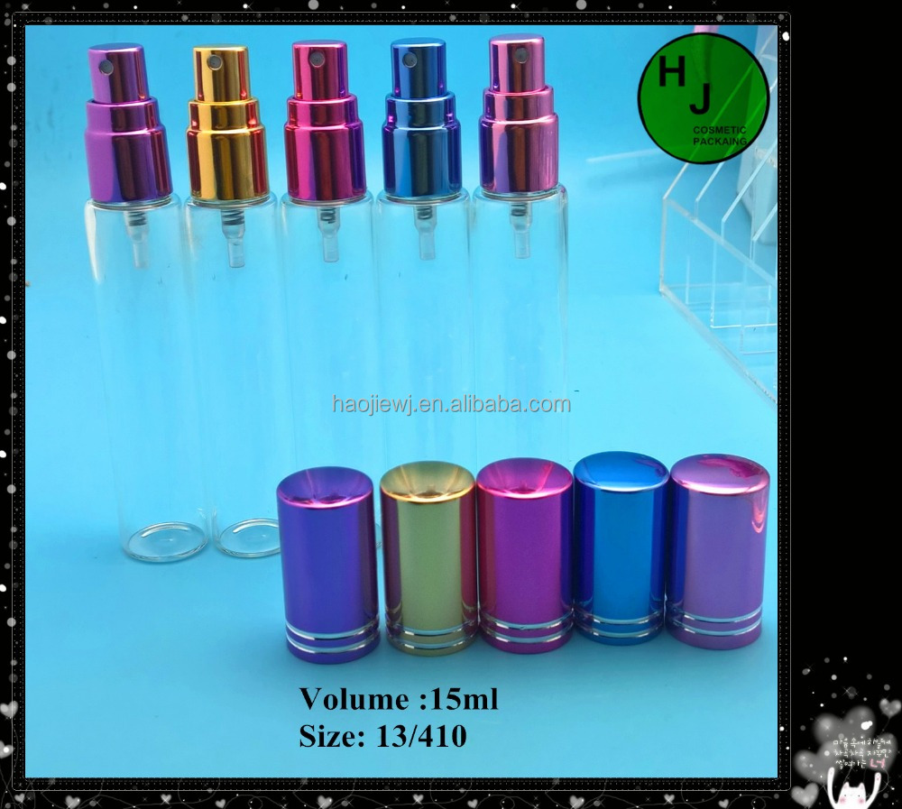 10-12-15-20ml perfume glass spray bottle