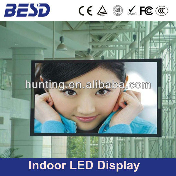 new electronics inventions P7.62 full color led billboard