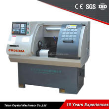 Mini Metal Light Duty CNC Turning Lathe Machine CK0632A