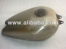 BSA M20 M21 CIVILIZED MODEL RAW PETROL GAS FUEL TANK - READY TO PAINT