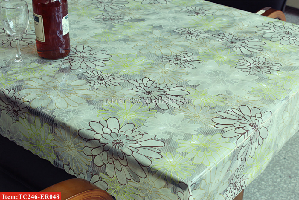 TC246-ER048 RNPT 3D printed EVA tablecloth/oilcloth