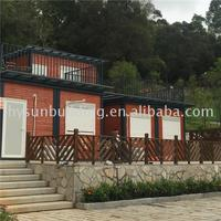 Top selling products in alibaba 40 ft shipping container homes home luxury house with modified for food packaging machine