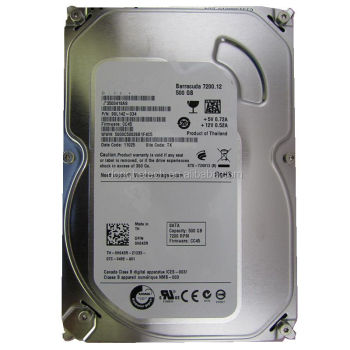 Cheapest Original Factory Refurbished Hard Disk 500gb Sata 3.5 7200rpm Hard Disk Drive For Computer