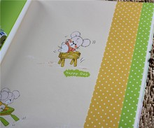 Latest non-woven kitty wallpaper wall from China Senry Baby