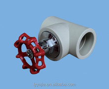Professional ppr pipe stop valve for water