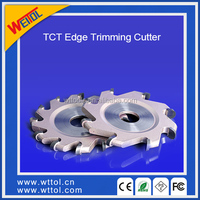 TCT Edge banding machine rough trimming cutter of aluminum