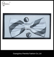 China wholesale woven 100 silk formal bow tie