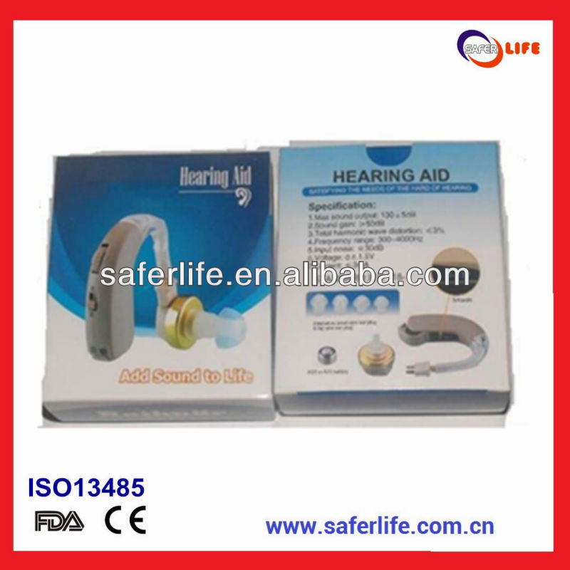 2017 Classic Powerful Behind the ear no noise Behind the BTE ear hearing aid F137 bte hearing aid hook ear hearing aid