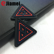 Cheap silicone rubber material custom shoe patch